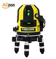 Лазерный уровень Firecore FIR411G 5 зелёных линий, фото 1