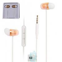 Наушники с микрофоном Xiaomi Capsule (High copy) оранжевые