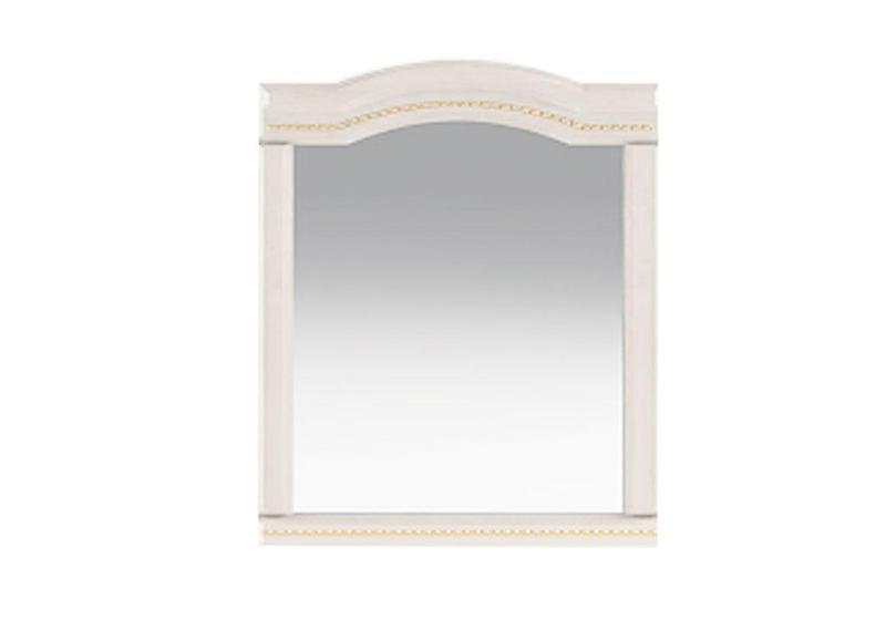 ДЗеркало на стіну з ДСП/МДФ у вітальню спальню настінне навісне  в обрамлені з МДФ ясень горіх Венера Слониммебель