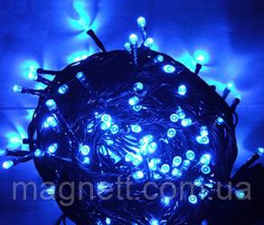 Гірлянда електрична світлодіодна LED 500 лампочок синя