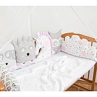 Бортики в детскую кроватку Защита в детскую кроватку