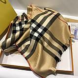Палантин, шарф  Барбери цвет бежевый, фото 3