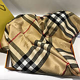 Палантин, шарф  Барбери цвет бежевый, фото 2