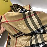 Палантин, шарф  Барбери цвет бежевый, фото 4