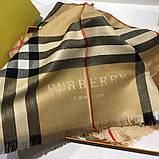 Палантин, шарф  Барбери цвет бежевый, фото 6