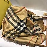 Палантин, шарф  Барбери цвет бежевый, фото 5