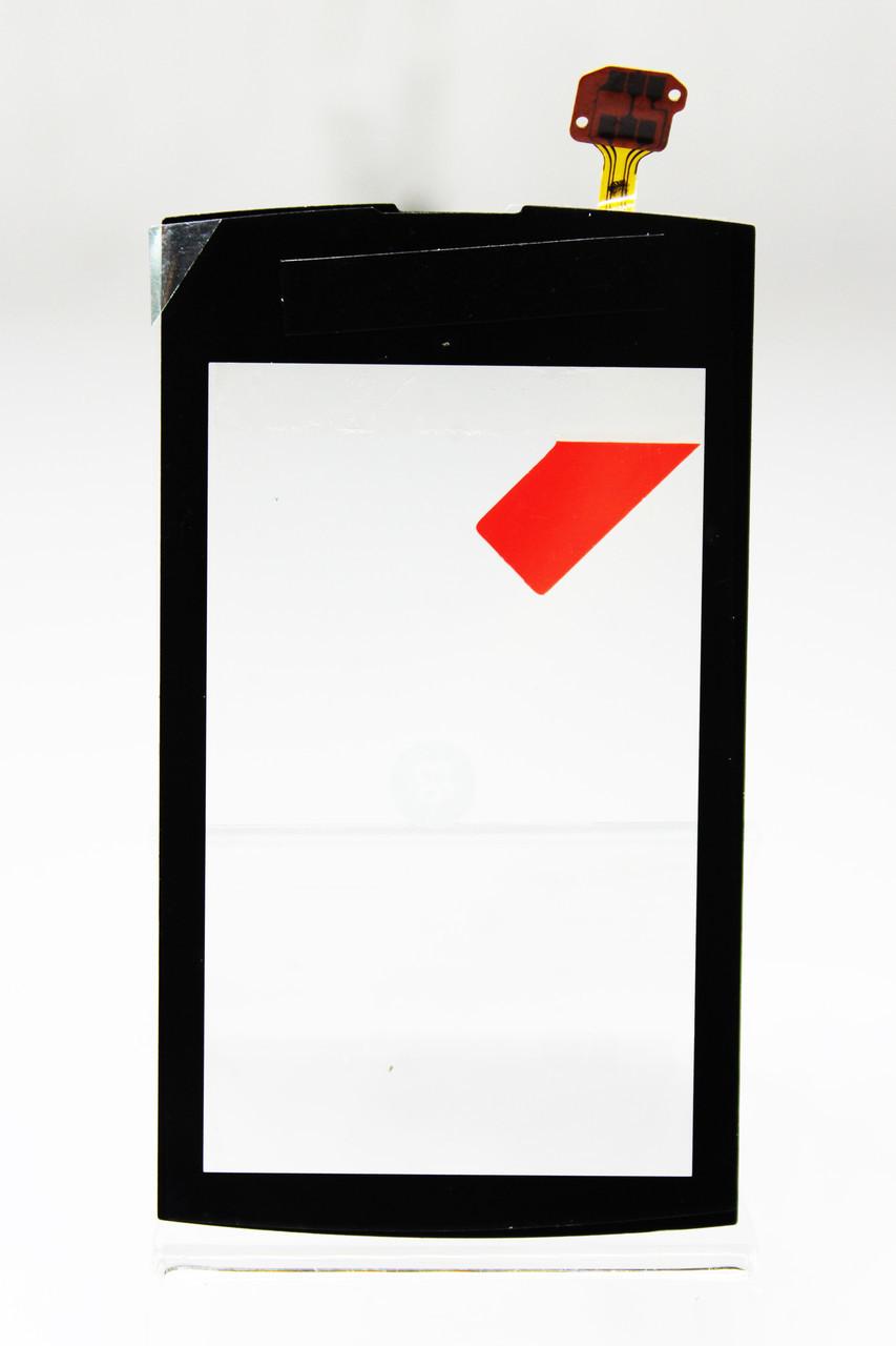 Сенсорный экран для смартфона Nokia Asha 305, 306 черный