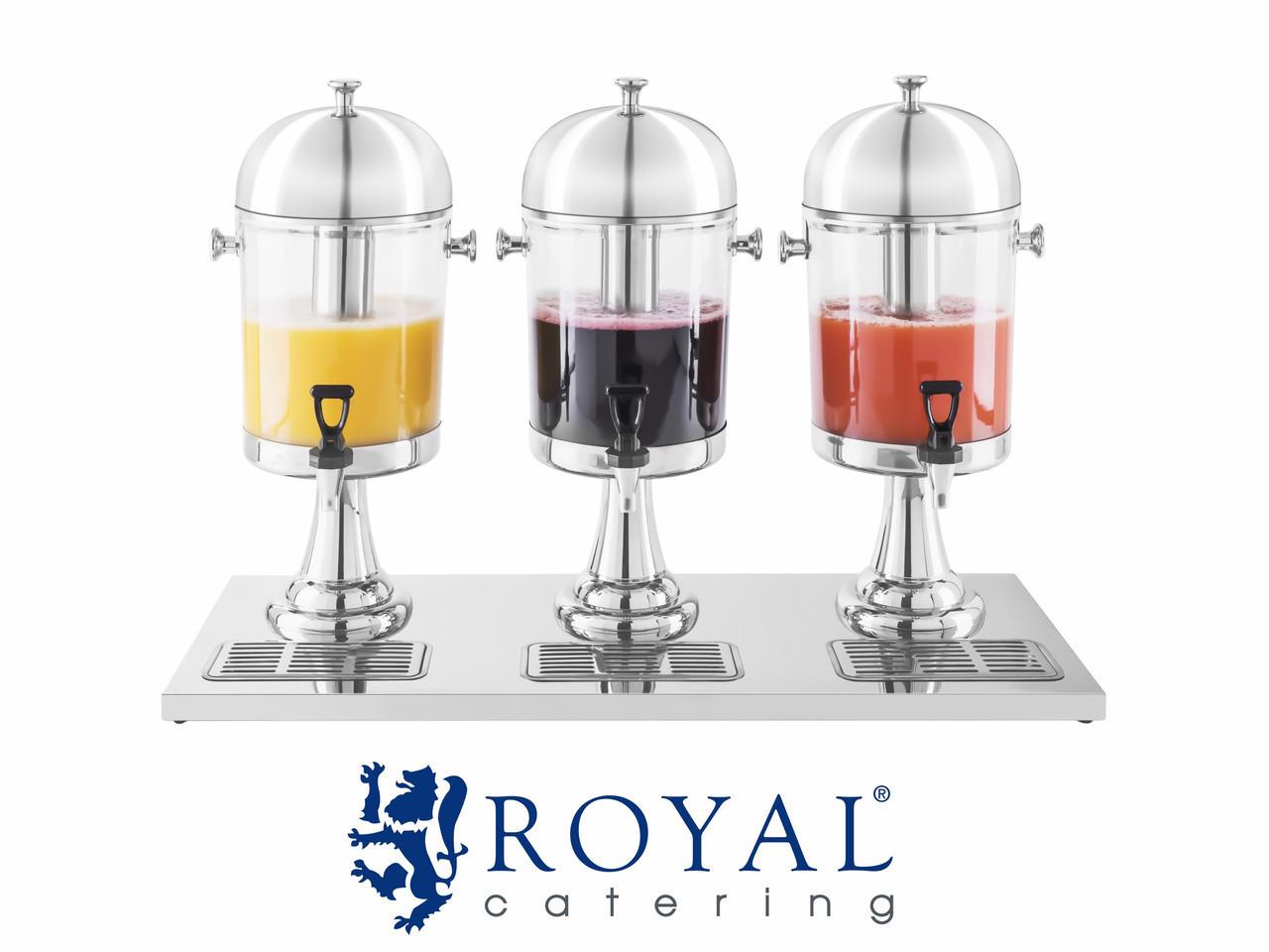 Диспенсер для соков 3 x 7 литра ROYAL, фото 1