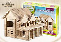 Конструктор IGROTECO Будиночок з балконом, для розвитку дітей