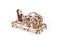 Механічний 3D-пазл UGEARS Двигун, конструктор для розвитку дітей