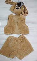 Карнавальный костюм Собака,Щенок мех,велюр,атлас мех светлый, фото 1