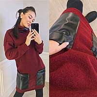 Туника женская с карманами в расцветках 27944, фото 1