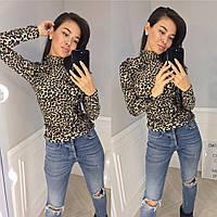 Свитшот женский леопард 27948, фото 1