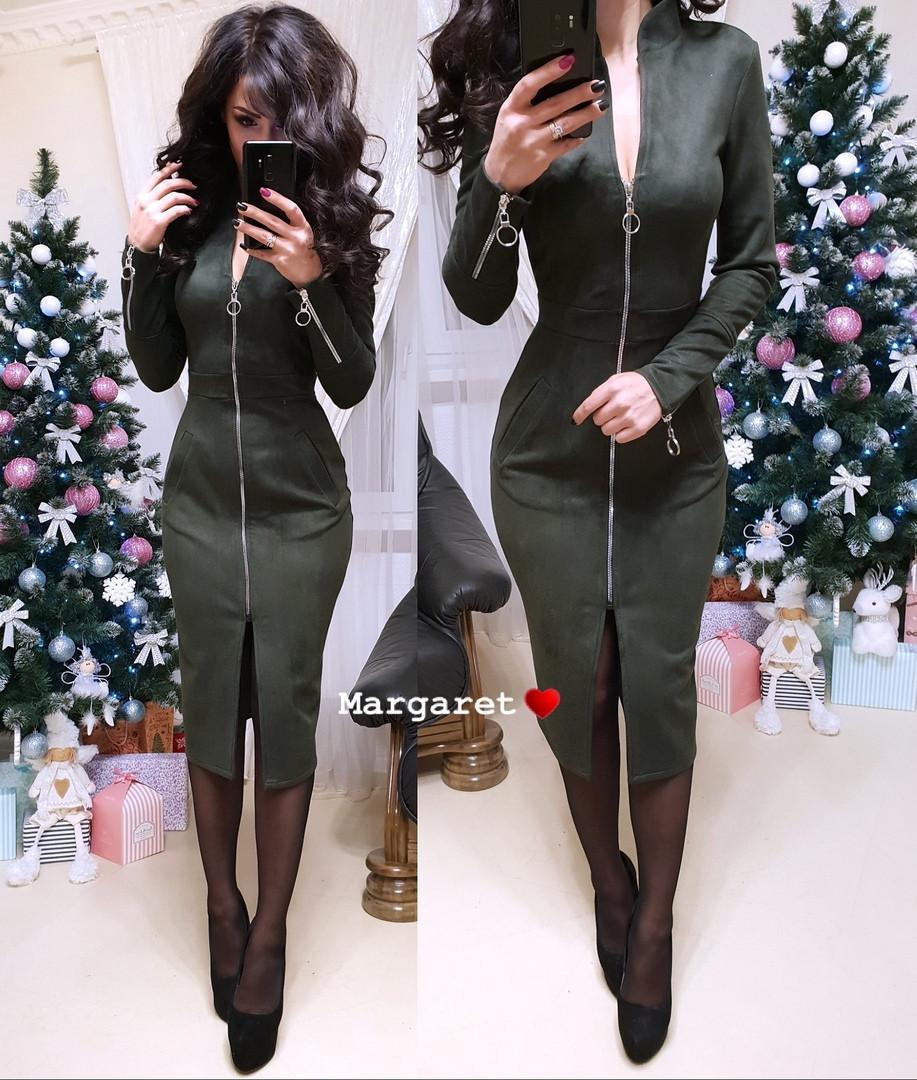2bd4724aa70 Платье женское с карманами -