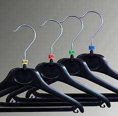 Бирки размерные на плечики, вешалки, тремпеля, размерники 6, фото 3