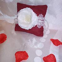 Подушка для колец ручной работы. Hand Made, фото 1