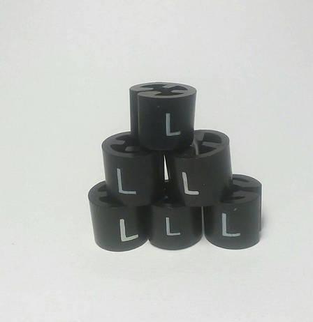 Бирки размерные на плечики, вешалки, тремпеля, размерники L, фото 2