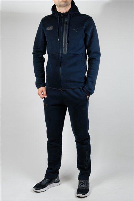 3023bb7d Зимний спортивный костюм Puma 21540 Темно-синий - купить по лучшей ...