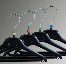 Бирки размерные на плечики, вешалки, тремпеля, размерники L, фото 3