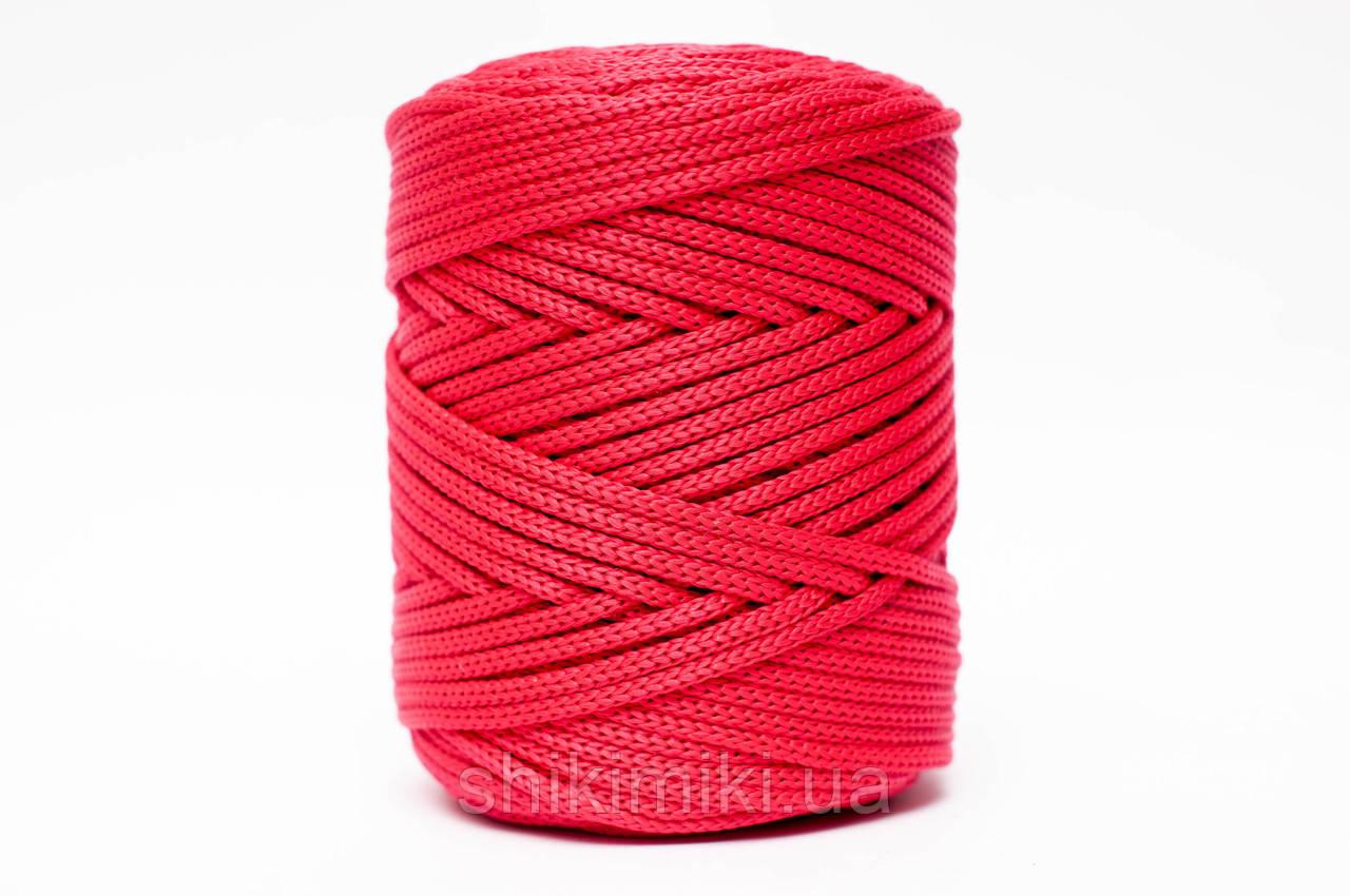 Трикотажный полипропиленовый шнур PP Cord 5 mm, цвет Красный