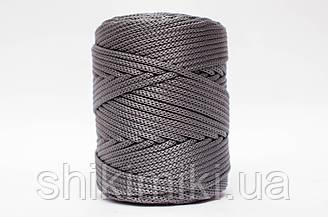 Полипропиленовый шнур PP Cord 5 mm, цвет Стальной