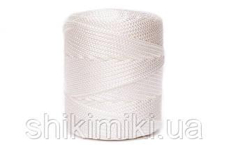 Трикотажный полипропиленовый шнур PP Cord 5 mm, цвет Белый