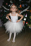 Сукня сніжинка прокат Київ 150грн, фото 2