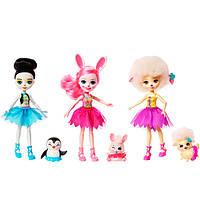 """Mattel Enchantimals FRH55 Набор из трех кукол """"Волшебные балерины"""", фото 1"""