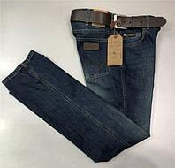 Мужские джинсы Wrangler D5328 темно-синие