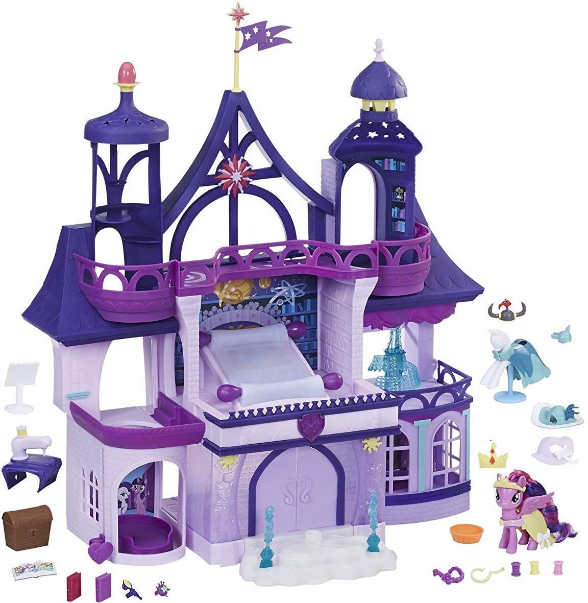 Новинка 2018год! Магическая школа Искорки Твайлайт Спаркл, свет, звук My Little Pony Magical School, Hasbro