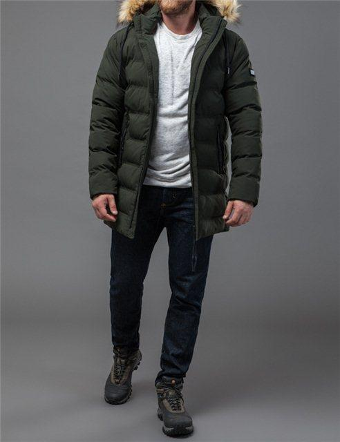 Зимняя куртка Tiger Force 21680 Хаки