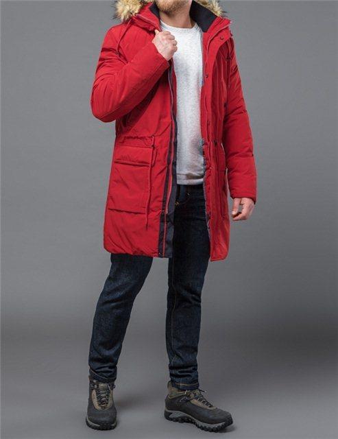 Зимняя куртка Tiger Force 21695 красный
