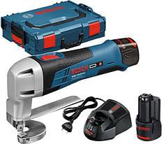 Ножницы по металлу аккумуляторные Bosch GSC 10,8 V-LI (L-boxx)