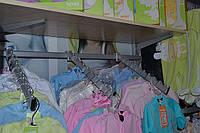 Стеллажи для детских магазинов. Торговое оборудование WIKO (ВИКО). Вешала для магазина детской одежды, фото 1