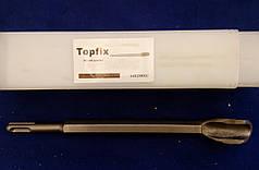 Зубило шаблонное канавочное SDS-PLUS 14 х 250 х U Topfix