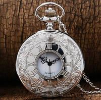 Мужские карманные часы на цепочке