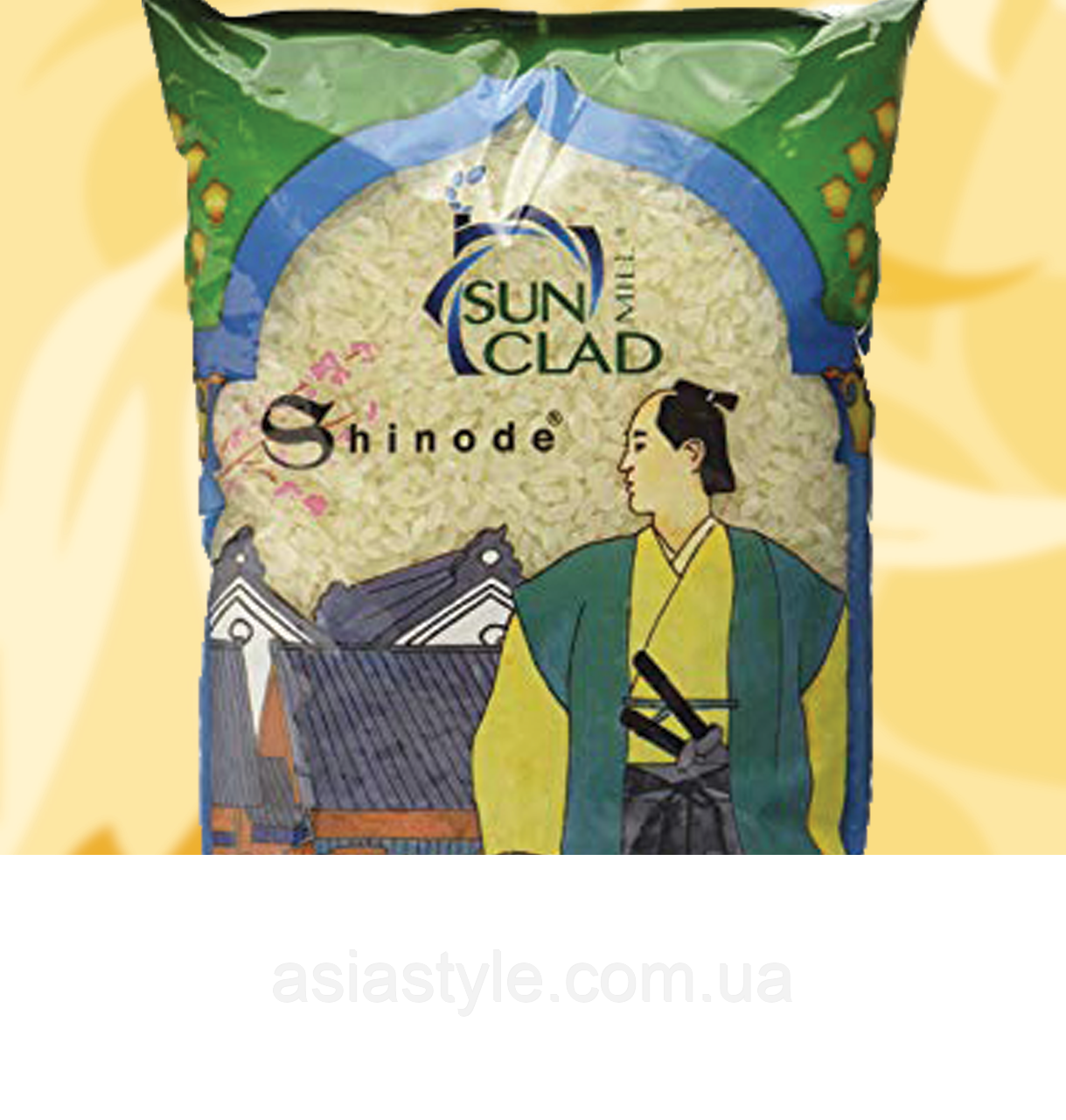 Рис японський, Sun Clad, Japanese Shinode Rice, 1кг, Дж