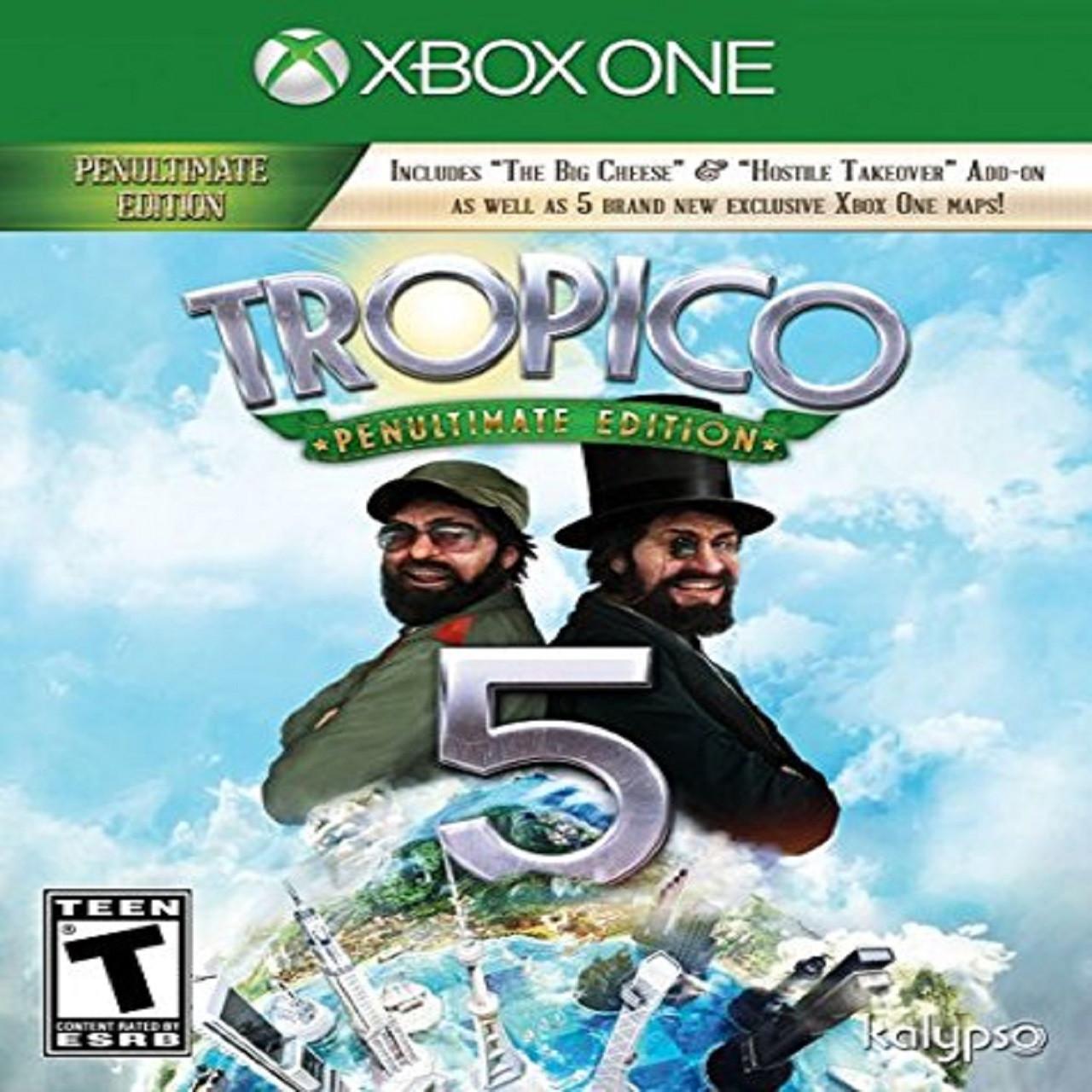 Tropico 5 XBOX ONE (русская версия) (Б/У)