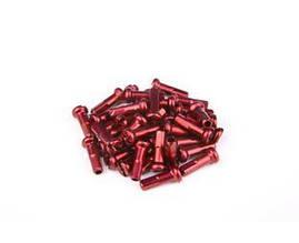 Ніпель FireEye ALU 7075 2/14мм алюміній 38 шт червоний