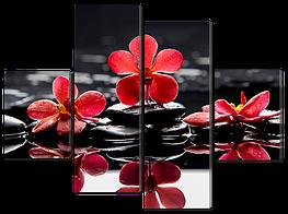 Модульная картина Interno Холст Отражение 126x93см (R601М)