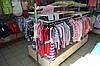 Островной торговый стеллаж. Стеллажи для магазина WIKO (ВИКО). Торговое оборудование для  детской одежды
