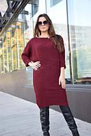Вязаное  женское платье Мишель, в расцветках р.44-52, фото 1