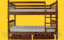 Двухъярусная кровать Трансформер 2 80х190 ТИС 1700х880х2025мм  , фото 2