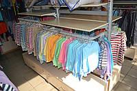Стеллажи для детских магазинов.  WIKO (ВИКО). Торговое оборудование для магазина детской одежды, фото 1