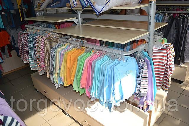 a44278b192c Стеллажи для детских магазинов. WIKO (ВИКО). Торговое оборудование для  магазина детской одежды