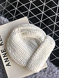 Шапка белая новая 30% wool, фото 2
