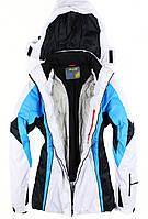 Лыжный костюм WHITE-BLUE