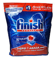Таблетки для посудомоечных машин Finish powerball 50 шт.