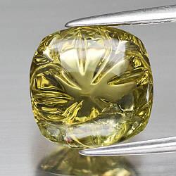Натуральный  цитрин 4.07ct 10mm