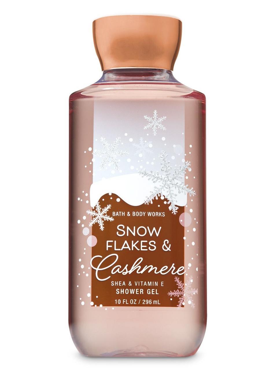 Гель для душа Bath&Body Works Snowflakes & Cashmere